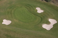 Golf aerial Stock Images