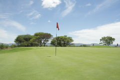 Golf in Africa Stock Image
