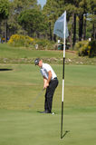 Golf - Alexander NOREN SWE Foto de archivo libre de regalías