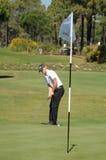 Golf - Alexandre NOREN SWE Photo libre de droits