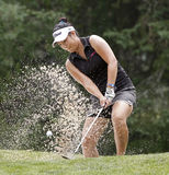 Golf Anna Kim Sand Royalty Free Stock Photos