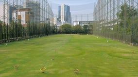 Golf-antreibende Reichweite Lizenzfreies Stockbild