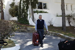 Golf aperto, Marbella di Colin Montgomerie Andalusia Fotografia Stock