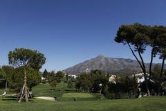 Golf aperto, Marbella, Spagna di Andalusia Immagini Stock Libere da Diritti