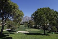 Golf aperto, Marbella, Spagna di Andalusia Fotografia Stock