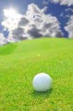 Golf auf einem guten Tag Stockbild
