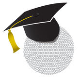 Golf-Ausbildungsstätteabbildung lizenzfreie abbildung