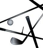 Golf-Ausrüstung Lizenzfreies Stockfoto