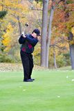 Golf in Autumn Stock Photo