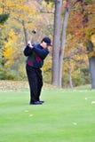 Golf in Autumn Stock Photo