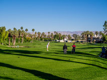 Golf aux villas de Marriott, Palm Desert images stock