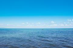 Golf av det Thailand Chonburi havet Royaltyfri Fotografi