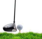 golf av utslagsplats Fotografering för Bildbyråer