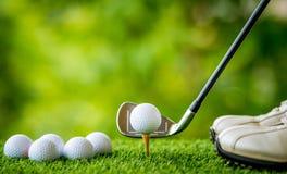 golf av utslagsplats Arkivbilder