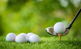 golf av utslagsplats Arkivfoton