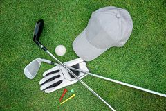 Golf bacground Royalty Free Stock Photography
