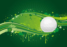 Golf background Royalty Free Stock Images