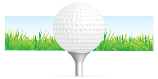 Golf background Royalty Free Stock Photography