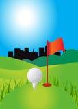 Golf Background stock illustration