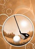 Golf background vector illustration