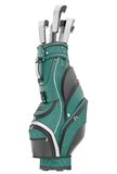 Golf bag royalty free stock photos