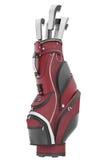 Golf bag Royalty Free Stock Photos