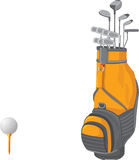 Golf Bag Stock Photography