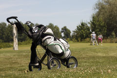 Golf bag Royalty Free Stock Photo