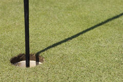 Golf hole Royalty Free Stock Images