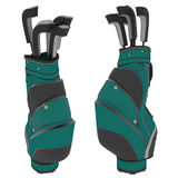 Golf Bags Royalty Free Stock Images