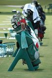 Golf Bags Royalty Free Stock Photos