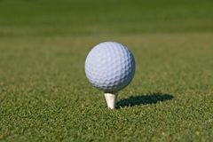 Golf ball 01. Withby Stock Photography