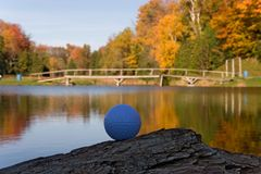 Golf ball 05. Withby Stock Image