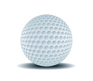 Golf Ball 1. Vector Drawing Stock Illustration