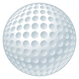 Golf Ball. Vector illustration of a golf ball royalty free illustration