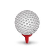 Golf ball. Sports concept,3d&computer generated Stock Photography
