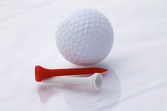 Golf Ball. Beautiful golf ball with great colors Royalty Free Stock Photos