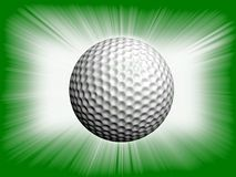 Golf ball. Royalty Free Stock Images