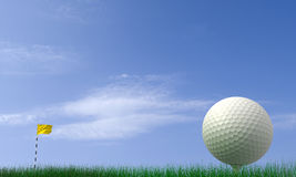 Golf-ball Stock Images