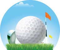 Golf-ball Royalty Free Stock Images
