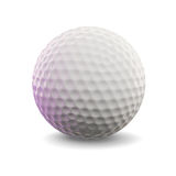 Golf Ball. 3d render of a golf ball Royalty Free Stock Photography