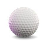 Golf Ball. 3d render of a golf ball stock illustration