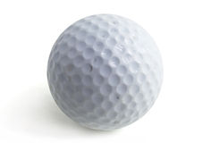 Golf ball. Isolated on white Stock Images