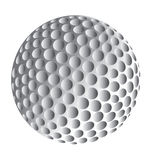 Golf Ball. An image of a golf ball stock illustration