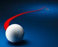 Golf ball background Stock Image