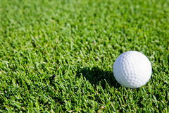 Golf Ball Background Royalty Free Stock Photography