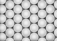 Golf Ball Background. (computer generated image Stock Image