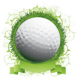 Golf ball background design royalty free illustration