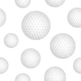 Golf ball background Royalty Free Stock Photos