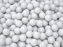 Golf ball background. Sport concept Royalty Free Stock Image
